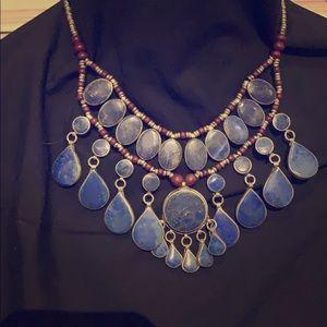 Vintage blue necklace..